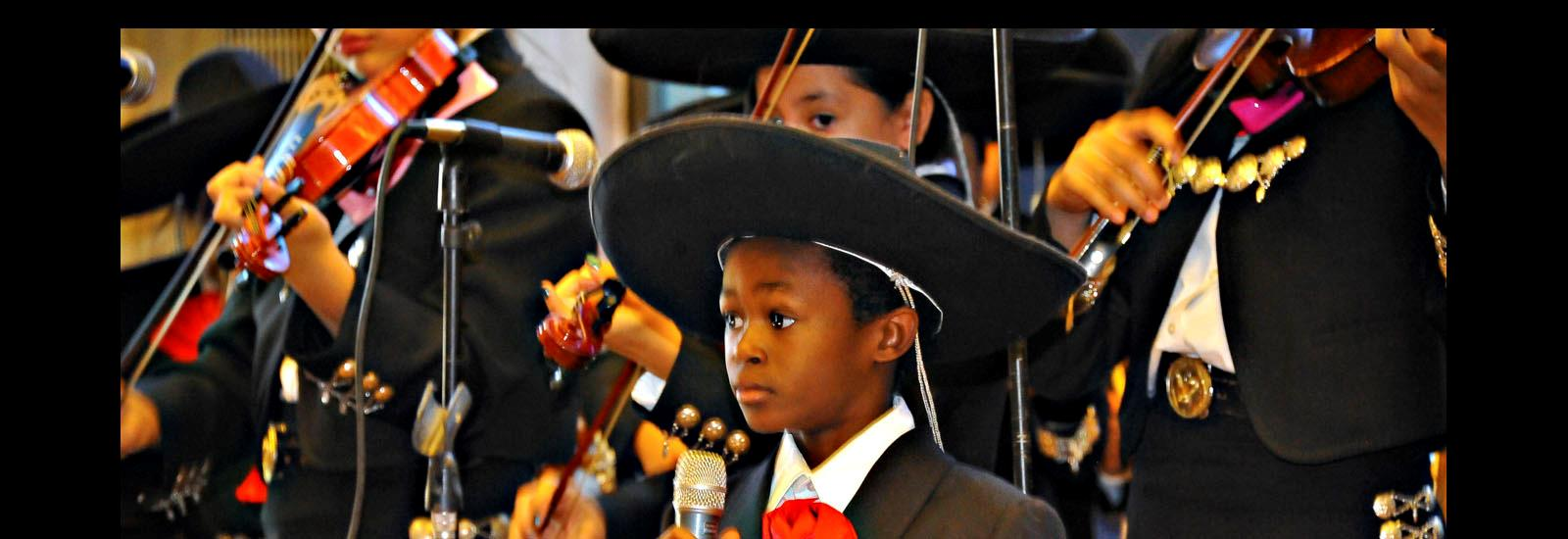 Mariachi is an important part of our school.
