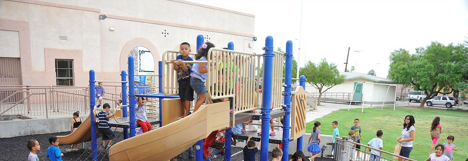 We have great play areas.