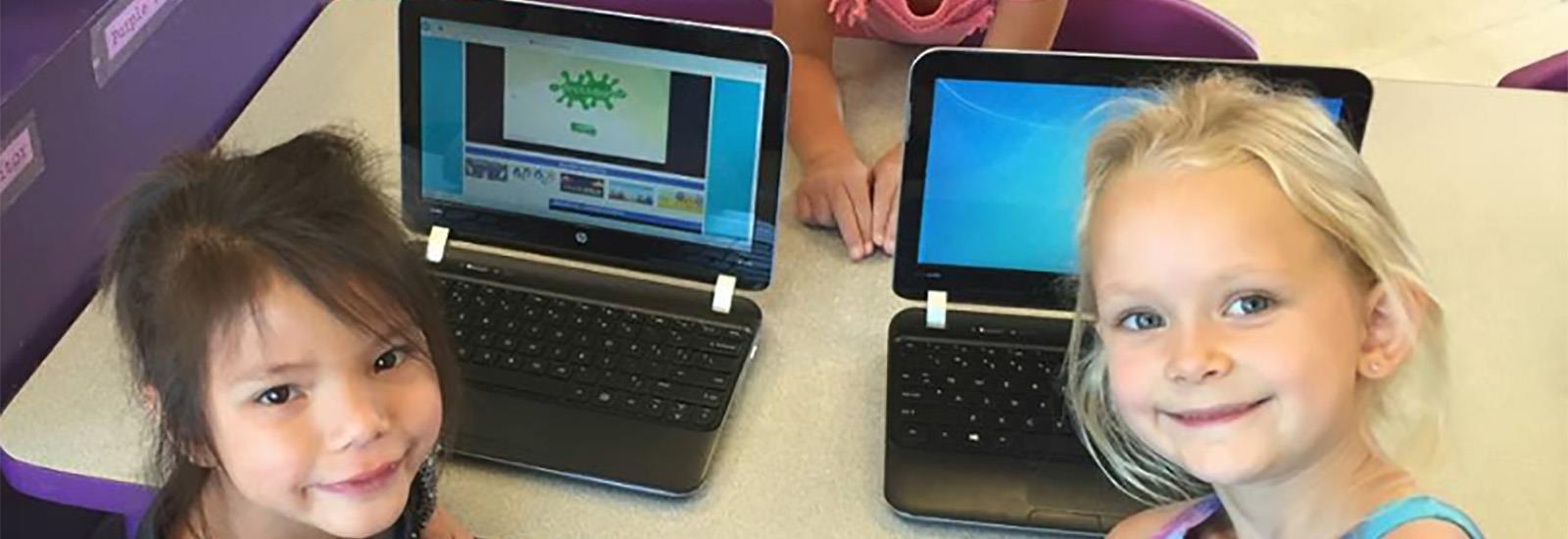 Hawks use a variety of digital tools to construct knowledge.