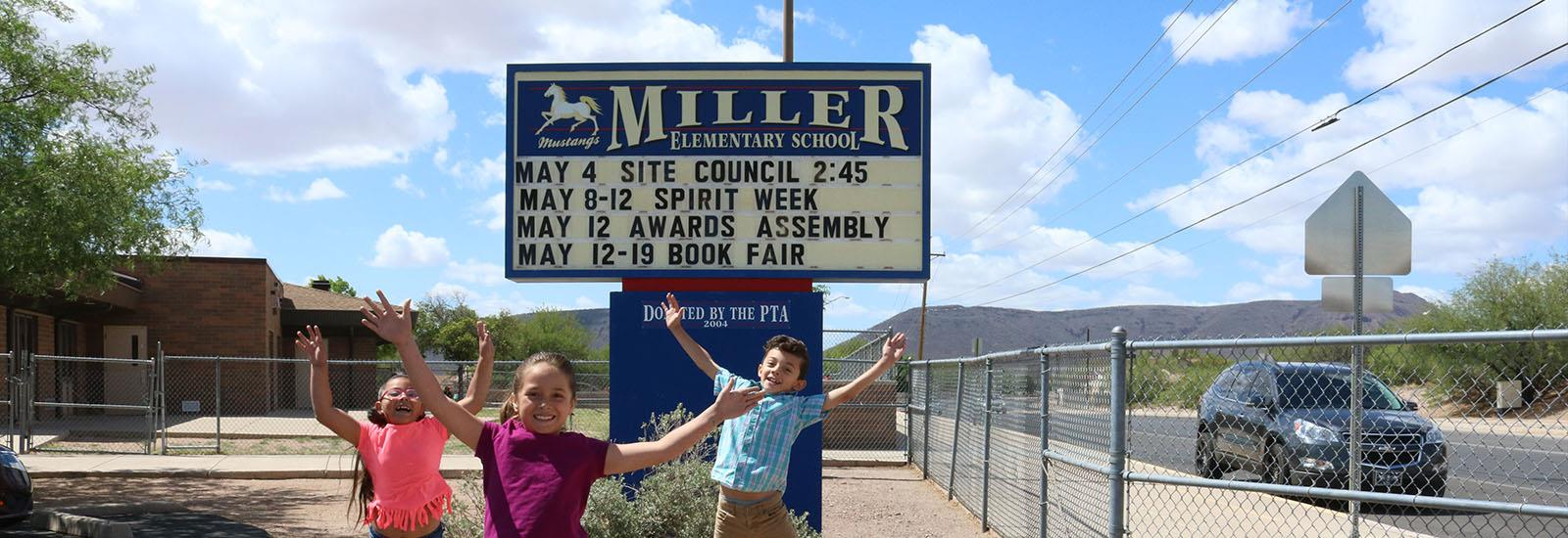 Miller is committed to creating a positive learning environment.