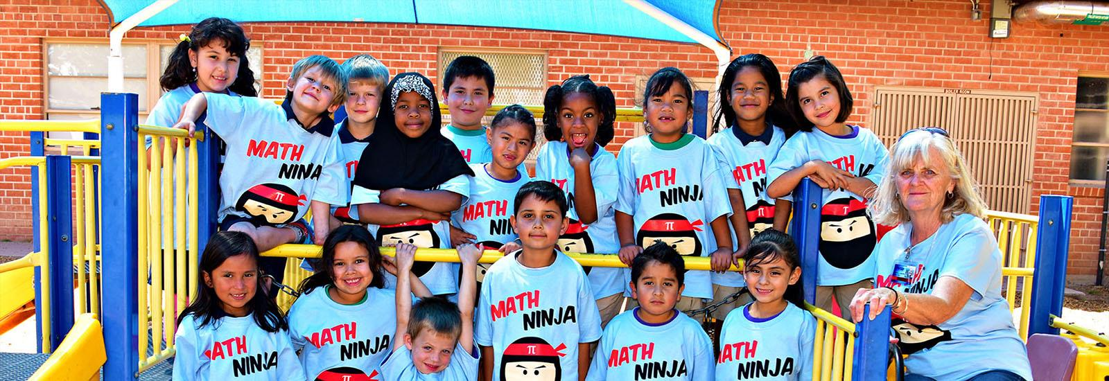 We are proud of our Math Ninjas!