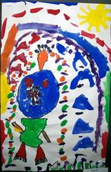 Click to view album: Miró Room – Abstract Figure Art