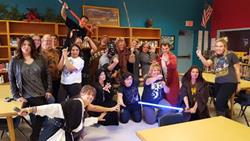 Click to view album:  Star Wars Day!