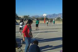Click to view album: Staff vs. Students Basketball Game