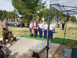 Click to view album: Gold Star Mothers Dedication 2019