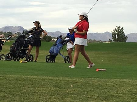 Victoria Pena, AIA State Girls' Golf Tournament
