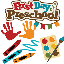 1st day of Pre-School (ages 3-4)
