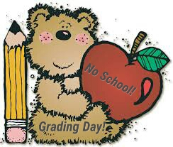 Grading Day - No School - December 21