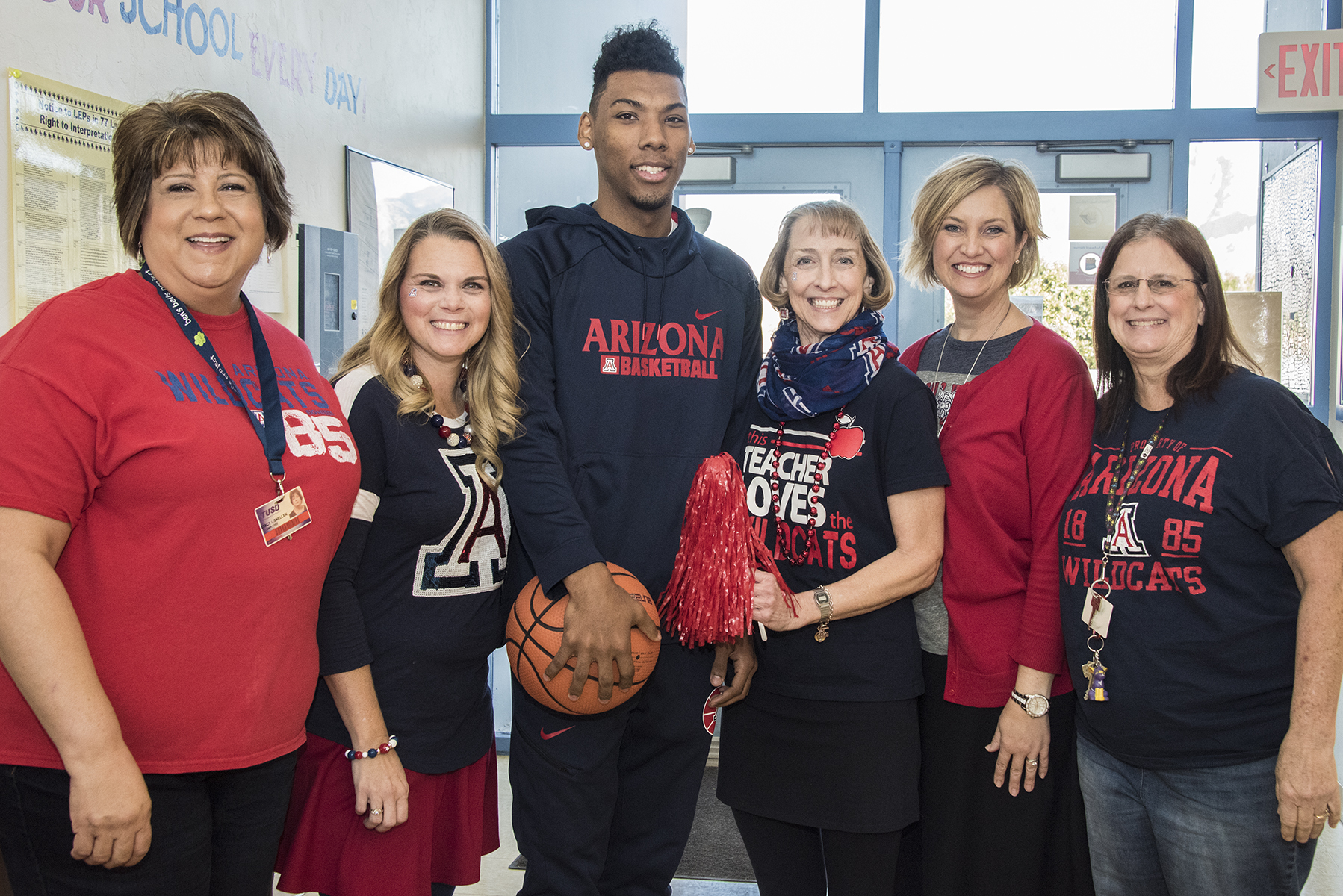 Davidson Staff with Allonzo Trier