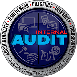 Internal Audit Seal - Accountability, Usefulness, Diligence, Integrity, Transparency