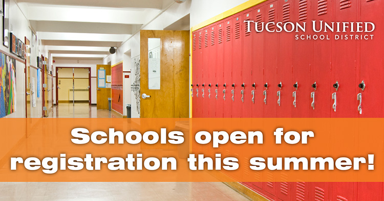 Schools open for registration this summer