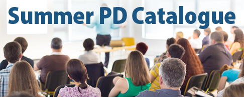 Summer PD Catalog