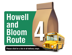Howell and Bloom Route - Please click here for a list of all delivery stops