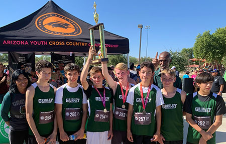 Photo of Gridley Cross Country Team