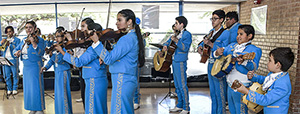 Mariachi from Hollinger perform at event