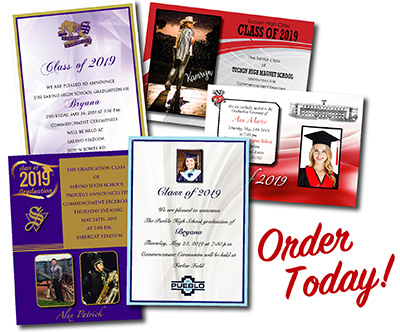 Photo of Graduation Announcements and Invitations