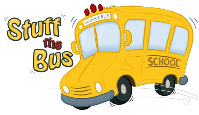 School Bus with Stuff the Bus