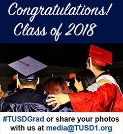 Congratulations Class of 2018! #TUSDGrad or share your photos with us at media@tusd1.org