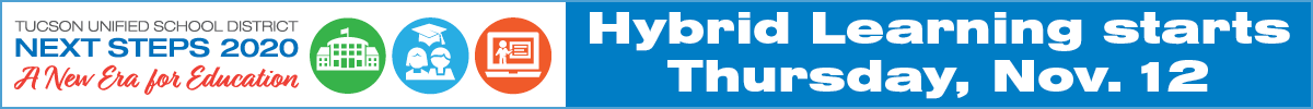 Hybrid Learning starts November 12th, make your choice in ParentVue by November 1st