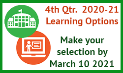 View4th quarter Learning options, choose by Feb 28