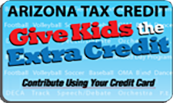Give Kids the Extra Credit. Secure Online Payments & Tax Credit Donations
