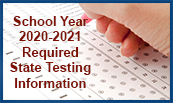 School Year 2020-2021 State Testing Information
