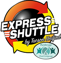 Express Shuttle Logo for Roskruge