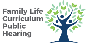 Family Life Curriculum Public Hearing