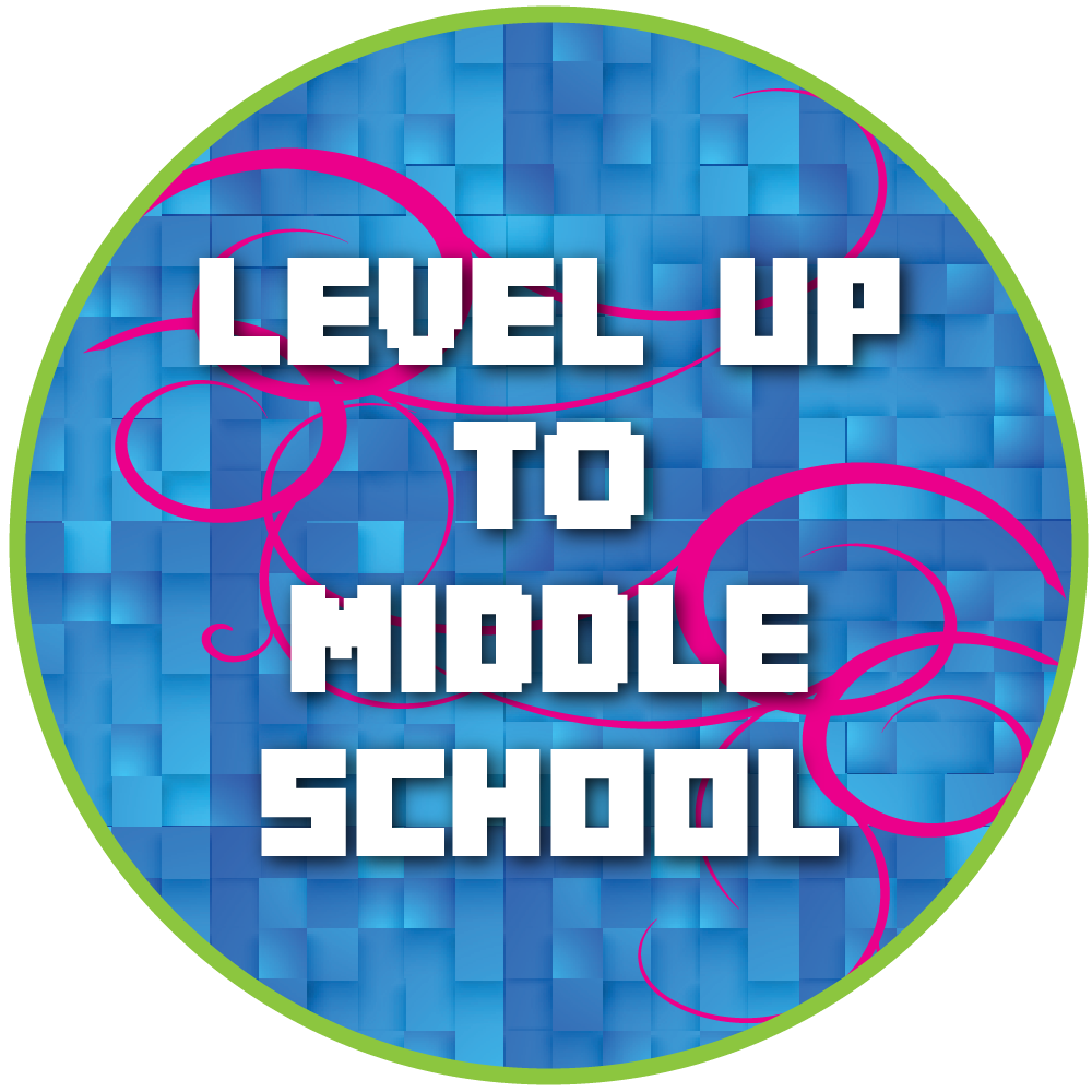 Level Up Middle School Bash Icon