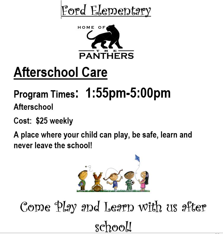 After school Program Information