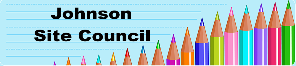 Site Council with a pencil border