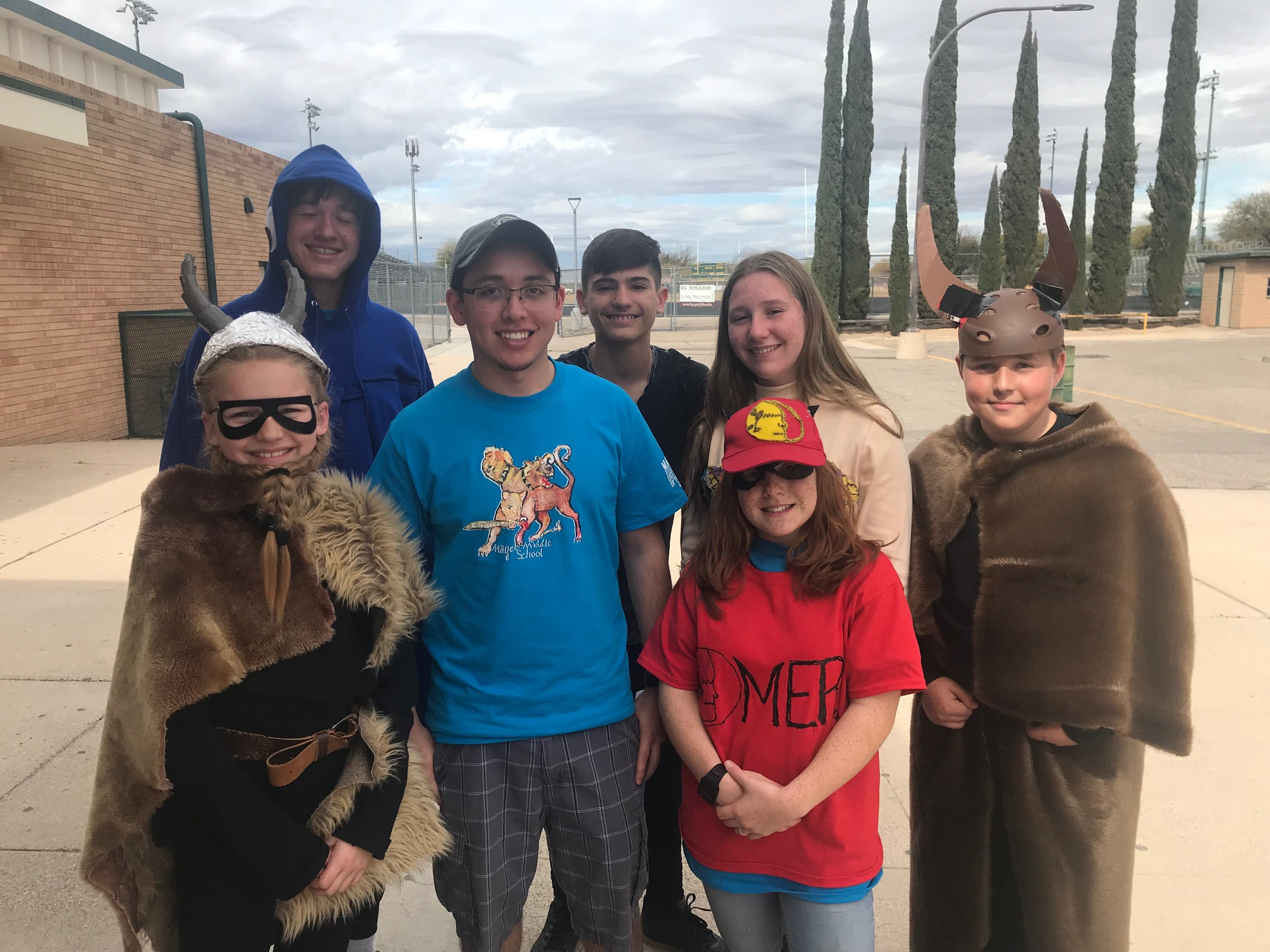 Magee Odyssey of the Mind team1 at Regional competition