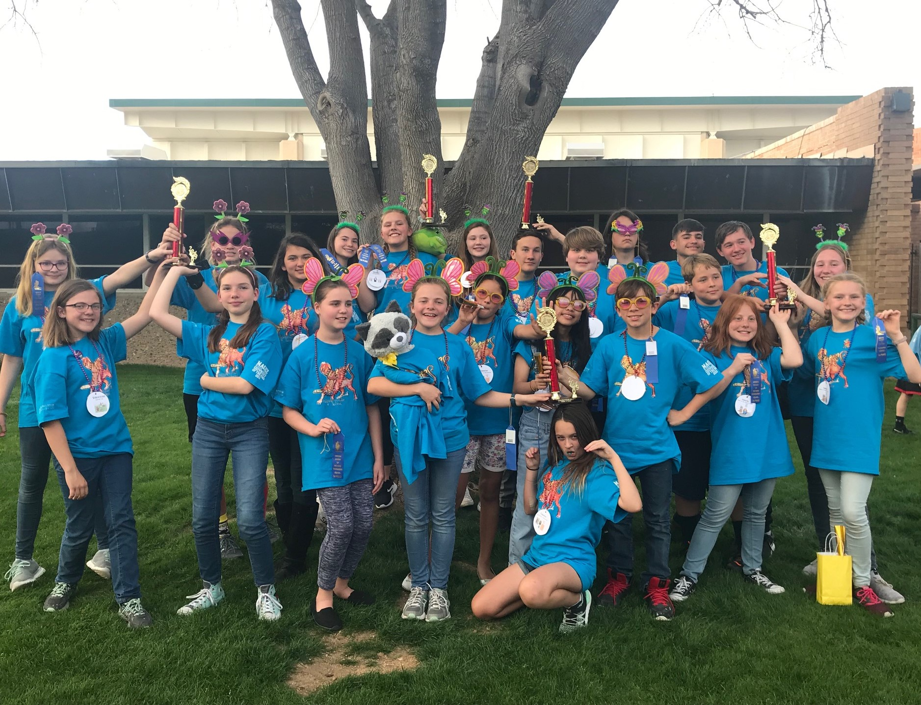 Magee Odyssey of the Mind teams at Regional competition