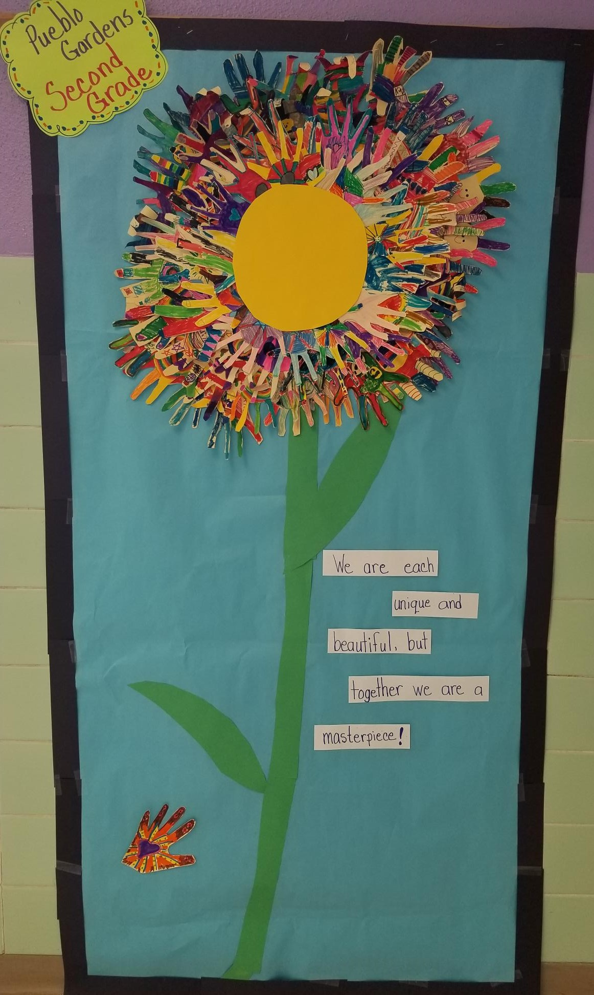Flower Poster from 2nd Grade