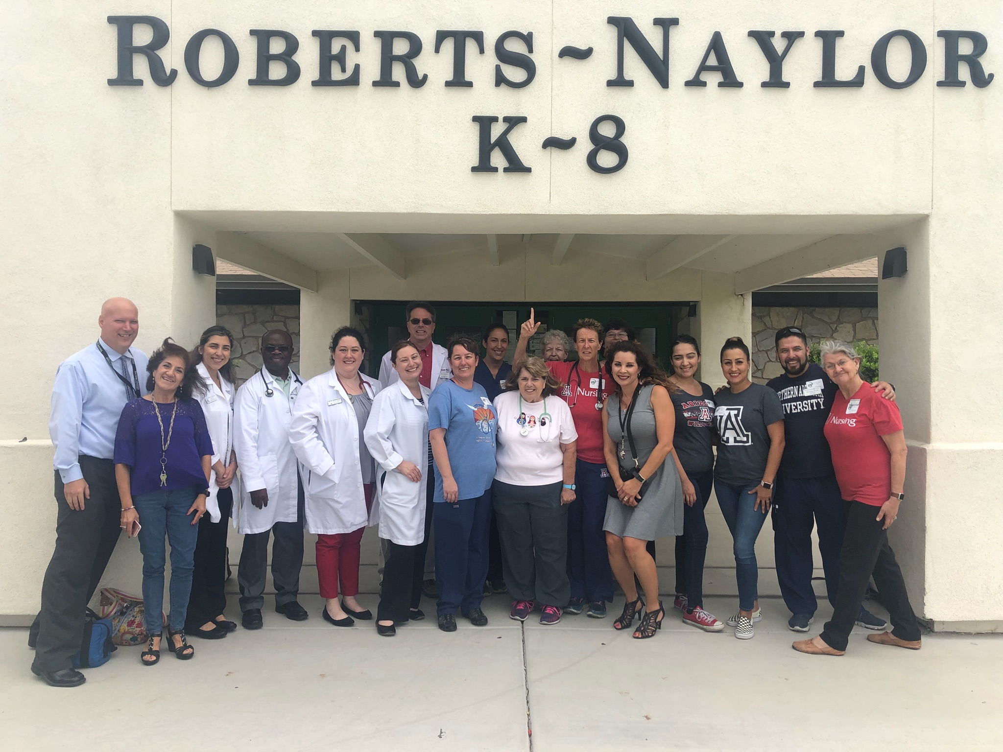 UA Nurses at Roberts Naylor