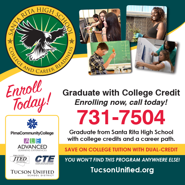 Graduate with College Credits call 731-7504 enrolling today