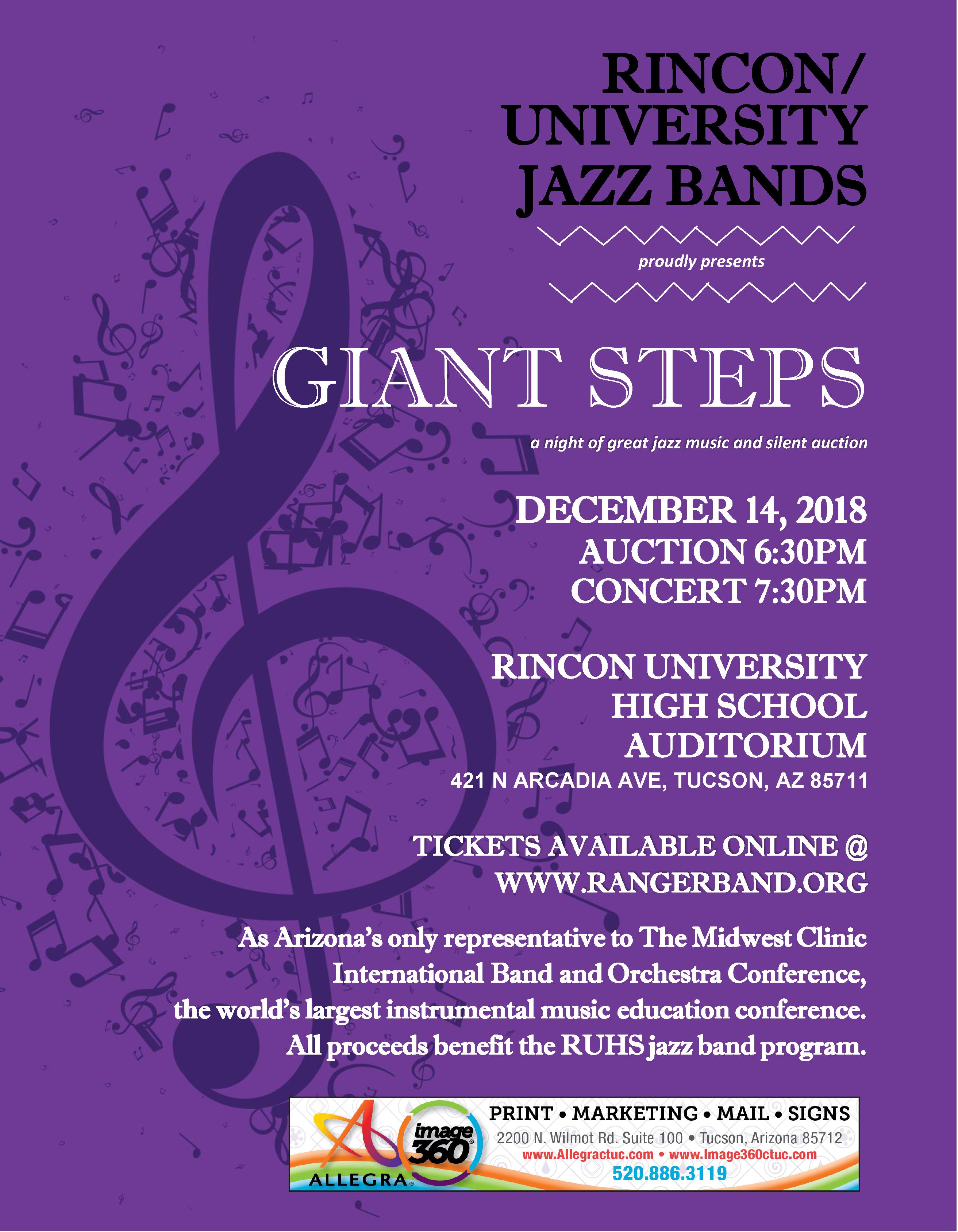 Jazz Concert Flier December 14th
