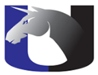 Utterback U logo with Unicorn