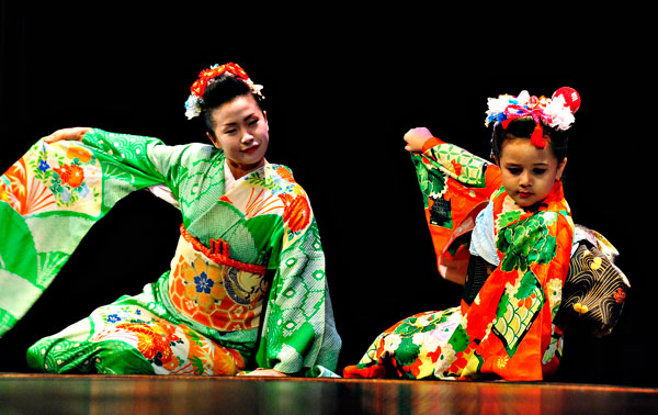 Photo of Dancers at Lunar New Year Celebration