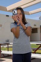 Photo of student taking photos