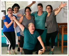 Photo of Teachers and Exercise Buddies