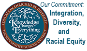 Our commitment: Integration, Diversity, and Racial Equity - Knowledge Changes Everything