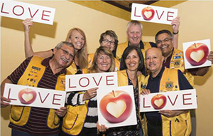 Photo of Lions Club Members who support Tucson Unified.